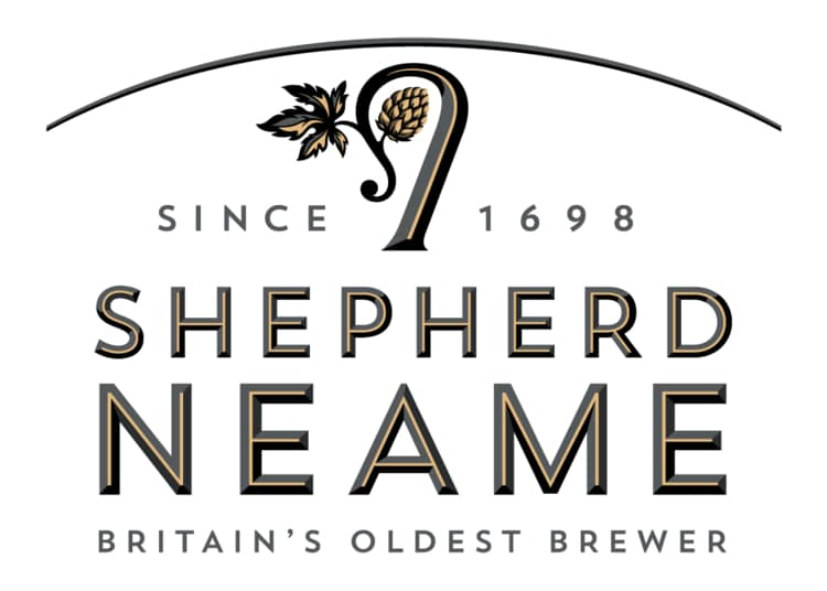 Our new brewery Shepherd neame logo