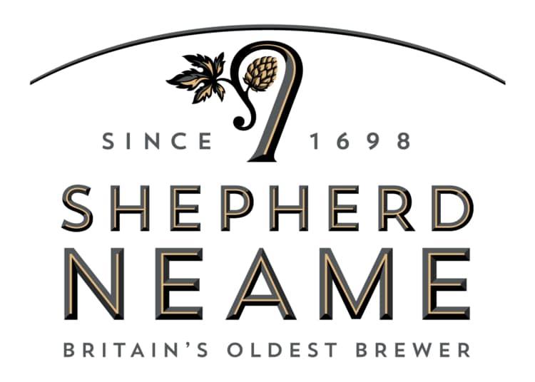 Our new brewery Shepherd neame logo