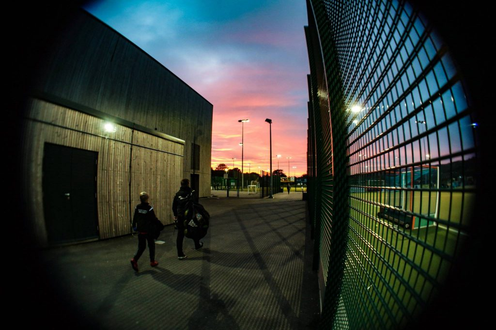 sports facilities at three hills sports park