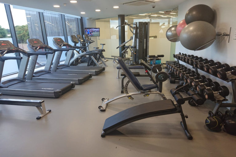 Gym re-opening