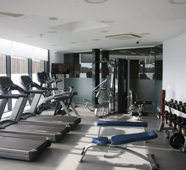 the gym at three hills sports park